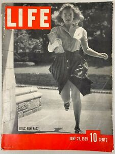 BYRON NELSON US Open Golf Champ Signed 1939 TIME Magazine Autographed w/ JSA COA