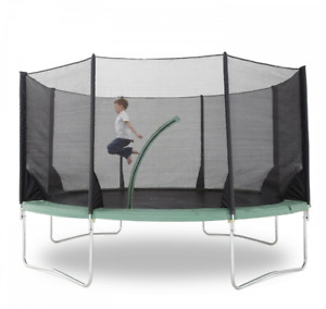 ❤️Outdoor 10FT Trampoline Net  For 8poles Round Spare Safety