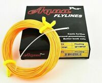 AquaPro WF or DT, Floating Fly Fishing Line, Plus Free, Braided Loop Connector