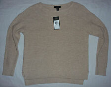 Lauren Ralph Lauren Jeans Co Womens NWT $100 LIghtweight Sweater, M L XL, Khaki