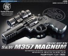 Academy Korea Full Size Airsoft Pistol BB Replica Hand Toy Gun S&W M357 Magnum