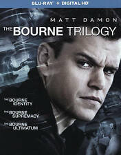 THE BOURNE TRILOGY NEW BLU-RAY. free shipping