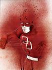 Original Watercolor Painting Marvel Comics DAREDEVIL 11