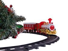 TRENO di Natale Set con suono realistico e 3 Vagoni da carico, sotto il vostro albero