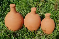 Ollas avec bouchon 10 litres arrosage pots et sol céramique poreuse