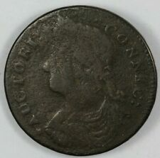 1787 Connecticut Colonial Copper Coin - Miller 31.1-r.4 R.2