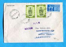 1976 BOCCACCIO £.100 COPPIA  + EXPR.CAVALLI ALATI £.250 per la GERMANIA (244797)