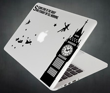 Peter Pan Sticker Big Ben Decal Apple MacBook Mac iPad Laptop Car Window 2