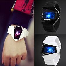 Mode Herren LED Sport Armbanduhr Digital Quartz Wrist Watch Wasserdicht NEU