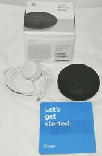 Google Home Mini Smart Speaker with Google Assistant - CHARCOAL BLACK