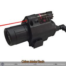 New LED Flashlight/light+Red Laser Sight Combo for Pistol/Gun Handgun 20mm Rail