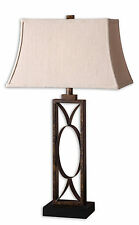 """Manicopa Rustic Brown Metal Table Lamp 32""""H by Uttermost 26264"""
