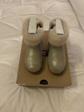 Girls Genuine Metalic Gold UGG Boots Size UK 8
