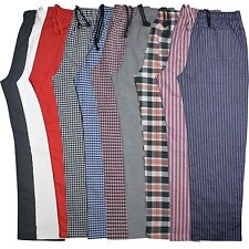More details for striped chef trousers excellent quality pants 3 pockets unisex crazy prices!!!