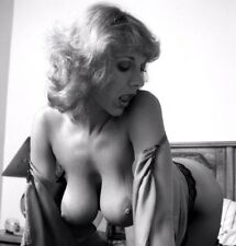 1960s Busty Nude Pinup Hanna Viek Showing off her DDs  8 x 10 Photogaph
