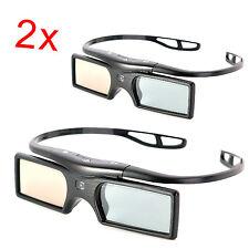 2x Active 3D Glasses for TDG-BT400A Sony TV W800B W800C X950C X950D X940D Z9D US