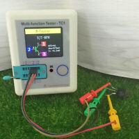 Pocket LCR-TC1 Transistor Tester Multifunction Meter Full Color Graphics Display