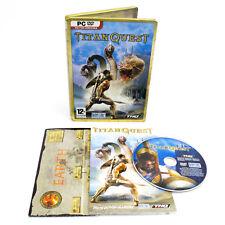 Titan Quest par THQ Pour PC CD-ROM, Steelbook, 2006, Action de Jeu de rôle (RPG)