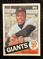 2020 TOPPS UPDATE WILLIE McCOVEY SAN FRANCISCO GIANTS 35 th ANNIVERSARY 85TB-39