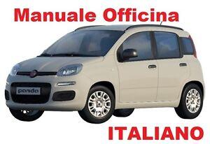 FIAT NUOVA PANDA Terza serie MK3 312-319 (2012/OGGI) Manuale Officina ITALIANO