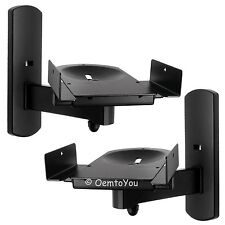 Side Clamping Speaker Wall Mounts Bracket for Surround Sound n Monitor Speakers