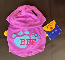 Build-A-Bear Promise Pets Purple BFF Hoody **NEW WITH TAG**