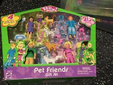 Toy Set Polly Pocket Friends Pets Friends Set Boy And Girl Rare New