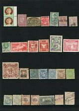 Cinderella and Revenue Stamps. World mixture on 2 pages