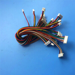 20pcs Double-end JST 1.25 2~10-Pin Cable Female to Female Wire Plug Tinned Wire