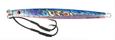 """gypsy lures saltwater speed jig 200g 7oz butterfly jig 8"""" blue pink UV"""