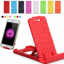 1 PCS Universal Foldable Cell Phone Desktop Stand Holder Mini Plastic Brack J6P7