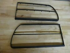 1979 1981 Datsun Nissan 280ZX OEM Tail Light Bezels PAIR LH & RH