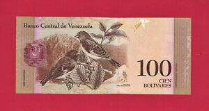 BEAUTIFUL VENEZUELA UNC BANKNOTE: 100 Bolivares 2015 (June 23, 2015) (Pick-93j)