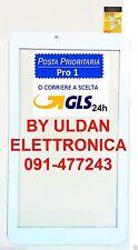 Touch Screen Mediacom Smartpad S2 3G M-MP7S2B3G Vetro Originale Bianco