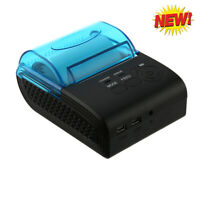 ZJ - 5805 High Speed Portable 58mm Android Bluetooth 4.0 Thermal POS Printer New