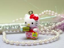 10 Hello Kitty Charm Pendant Figurine DIY Accessories 10 pieces 5l-10 Wholesale