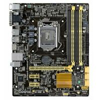 B85M-G/CSM/SI Micro ATX DDR3 LGA 1150 Motherboard I/O Shield For Asus pw