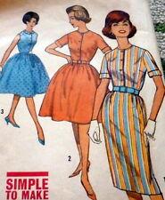 *LOVELY VTG 1960s DRESS Sewing Pattern 14/34