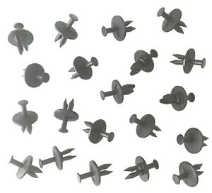 20 pcs of = Bumper Pad Cover Retainer Blind Rivets Push-Type Retainers for GM