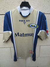 Maillot rugby RC ROUEN Force XV supporter collection sport moulant M / L