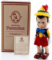 DISNEYLAND PINOCCHIO 65TH ANNIVERSARY PORCELAIN DOLL LTD ED COA SIGNED