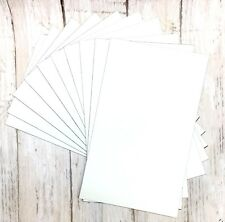 "Lot of 10 Printable Magnetic Photo Squares 3"" X 5"" Picture Frames Blocks Collage"