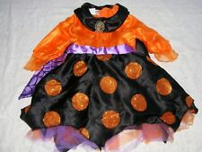 Disneyland Disney Parks Minnie Mouse Witch Costume Size XXS 2 3 Orange Purple