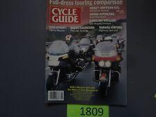 Cycle Guide Magazine May 1986- BMW K100RT, Suzuki Cavalcade, Honda Aspencade