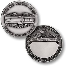 CAB Combat Action Badge - Engravable - US Army Challenge Coin NEW