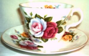 Rosina - Roses - Cup & Saucer