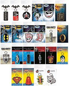 KEYRINGS (Official) Film/TV/Gaming/Comics Themes (7.5x15cm)(Key ring/Chain/Gift)