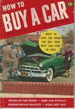 1951 How To Buy Cars Rare info on serial numbers & more DODGE FORD CHEVROLET GM
