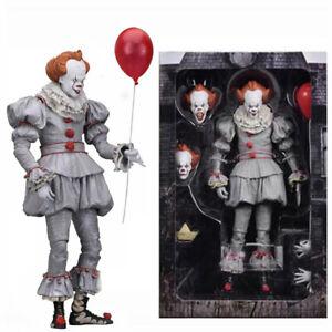 NECA Stephen King's It The Clown Pennywise PVC Horror Action Figuren Model DE