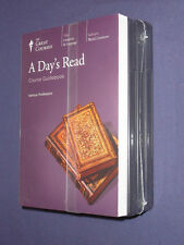 Teaching Co Great Courses  CDs             A  DAY'S  READ        new & sealed